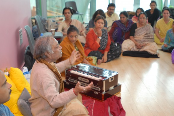 Pandit Birju Maharaj at Dance India