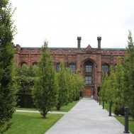 View of the Collegiate from the campus