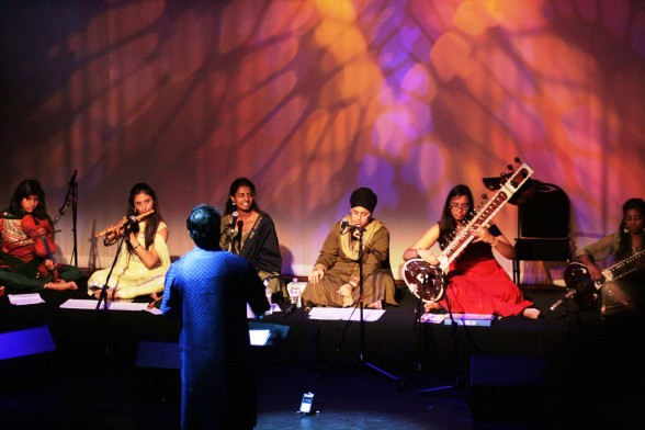 Samyo Too, our mini ensemble, performs at The Capstone Theatre, Liverpool, October 2013