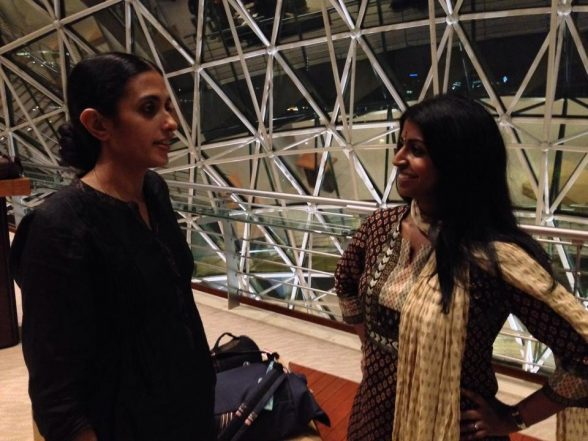 A post-show chat with cast member Anjana Anand.