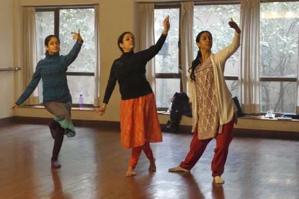 Arushi, Monisa and Mythili - a beautiful confluence of dance styles