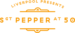 sgt pepper logo orange